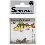 Spinwal Snap with swivel size 20 10pcs su suktuku